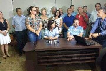 Em Dourados, Délia anuncia primeiro escalão com 'técnicos e políticos'