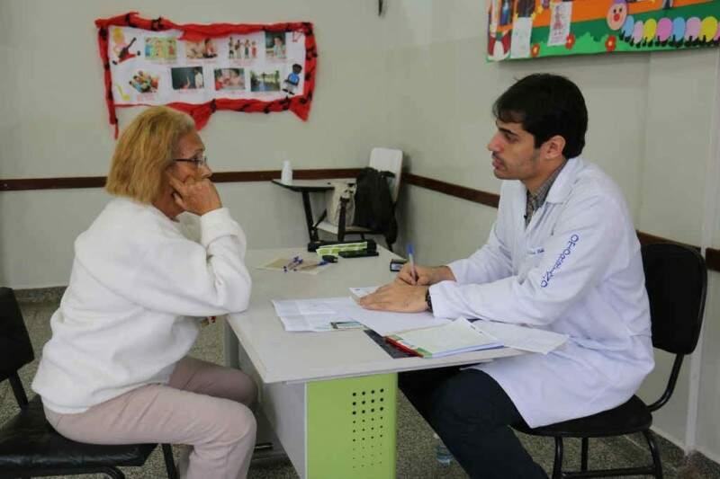 População recebe atendimento em diversas áreas da saúde.  (Foto: Jessica Barbosa/Noticias MS)