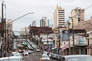 Objetivo da revitalização é transformar área central em um shopping a céu aberto. (Foto:Divulgação)