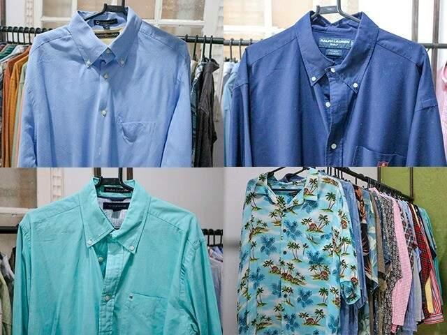Diferentes modelos de camisas. (Foto: Marcos Maluf)