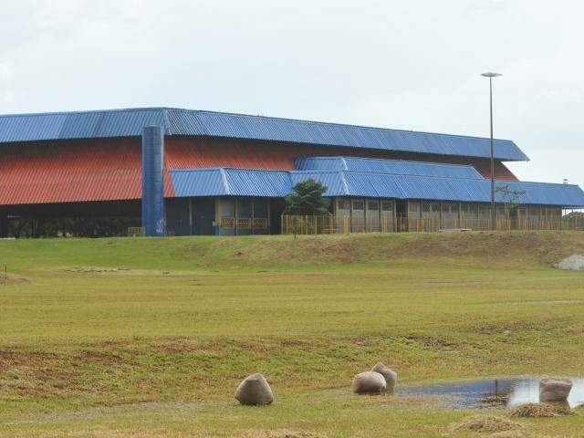 Parque Ayrton Senna, no Aero Rancho; funcionamento parcial e subaproveitado (Foto: Alcides Neto)