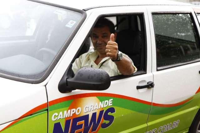 Motorista que acompanha e faz parte da história do Campo Grande News