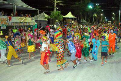 Carnaval Cultural encerrou a festa ontem, com cordões carnavalescos. (Foto: Divulgação)