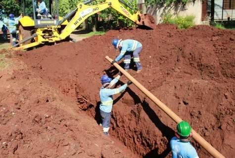 Águas Guariroba já implantou 7,2 mil metros de esgoto no Jardim Seminário