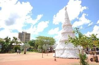 Segunda maior cidade do Estado terá decoração especial para o fim de ano (Foto: A. Frota)
