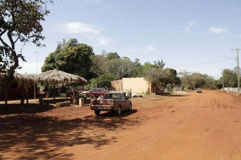 Rochedinho fica a 24 quilômetros de Campo Grande. (Foto: Cleber Gellio/Arquivo)