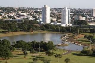 Os moradores do bairro tem o Parque das Nações como vizinho e cartão postal.(Foto: Marcos Ermínio/Arquivo)