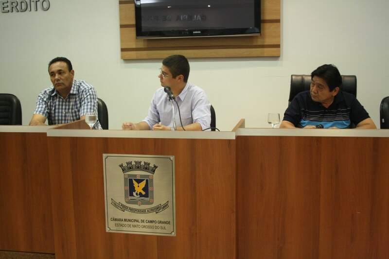 Membros da CPI ouviram dois empresários na tarde de hoje (Foto: Marcos Ermínio)