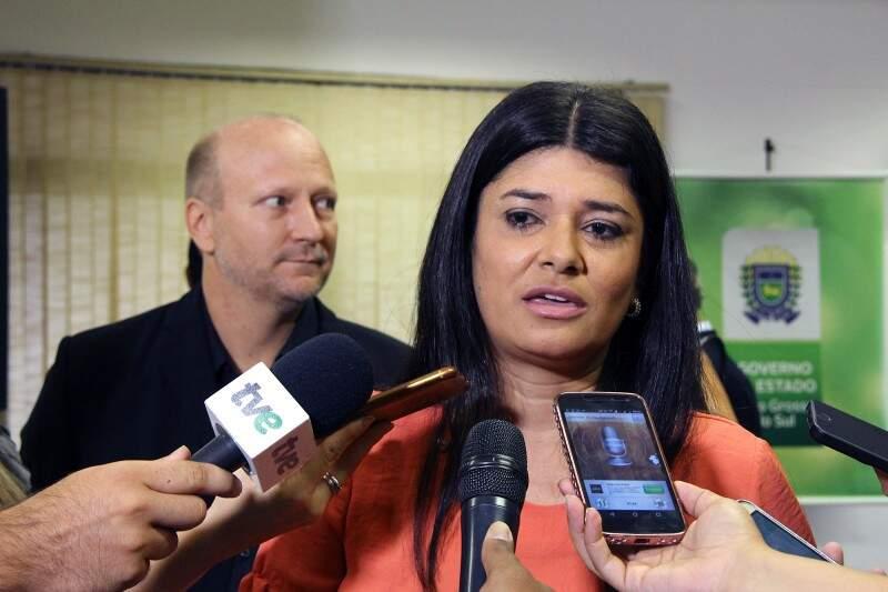 Governadora em exercício, Rose Modesto (PSDB). (Foto: Edemir Rodrigues)