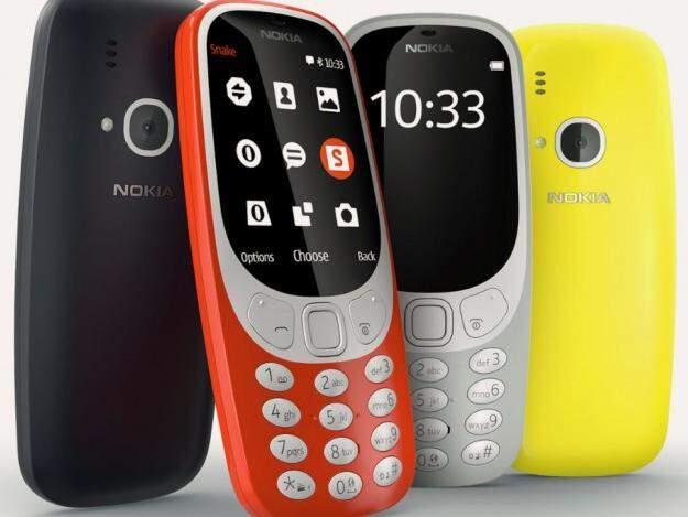 O celular continua com o design mas em 4 cores, (Foto: Reprodução/Nokia)