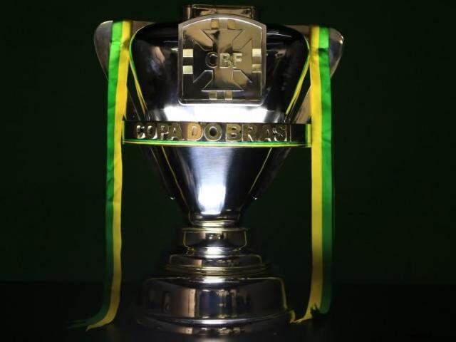 Taça da Copa do Brasil (Foto: Lucas Figueiredo/CBF)