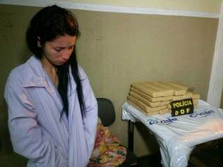 A vendedora natural do Acre foi preso em Caarapó (Foto: FM Cidade 101/Adalberto Domingos)