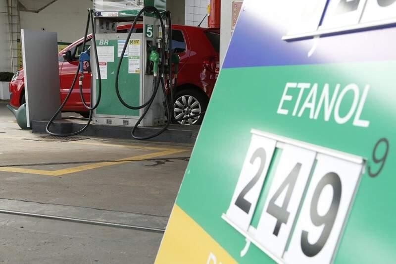 Com o reajuste, o etanol deixou de ser vantajoso e está perdendo espaço para a gasolina. (Foto: Gerson Walber)