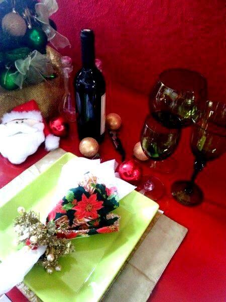 Os florais usados durante o ano podem ser reaproveitados no Natal (Foto: Aline da Silva)