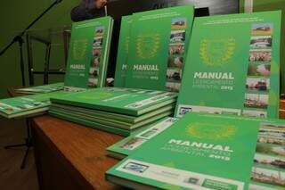 Normas estão no Manual de Licenciamento Ambiental 2015, lançado há pouco mais de três semanas, no Imasul (Foto: Marcos Ermínio)