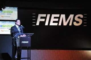 Presidente da Fiems, Sergio Longen falou sobre os desafios da indústria. (Foto: Divulgação/Fiems)