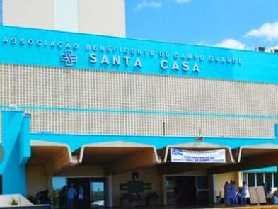 Fachada da Santa Casa, que trabalha  com meta dos profissionais de enfermagem (Foto: Santa Casa/Divulgação)