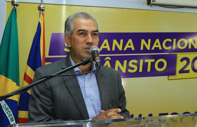 Reinaldo diz que chegaram pedidos para mudança em projeto do Refis (Foto: Edemir Rodrigues/Governo MS)