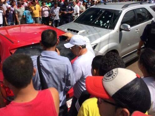 Hoje de manhã, Ezequiel foi morto em Ponta Porã (Foto: Ponta Porã Informa)