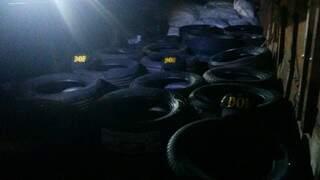 Material apreendido pela polícia da fronteira (foto: Divulgação DOF)