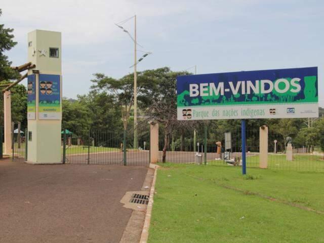 Parque das Nações passará por obras de revitalização. (Foto: Marcos Ermínio/Arquivo)