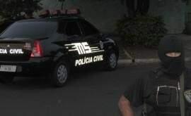 Policiais deflagraram ação ás 6h de hoje. Foto: Divulgação PC