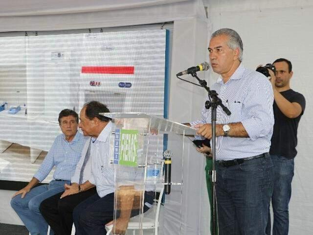 Governador do Estado, Reinaldo Azambuja (PSDB). (Foto: Helio de Freitas/Arquivo)