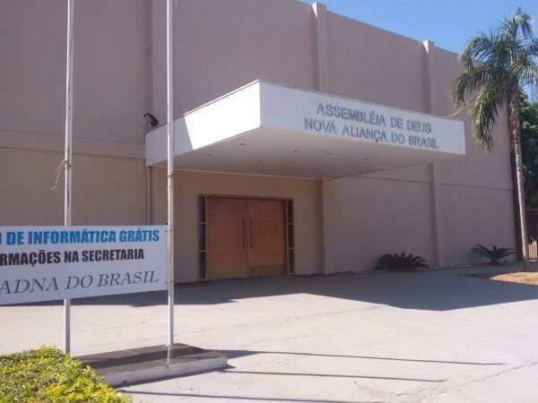 Uso da área ocupada pela igreja foi concedida em 2008. (Foto: Arquivo)