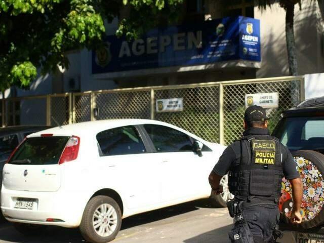 Agepen é alvo de operação do Gaeco hoje. (Foto: André Bittar)
