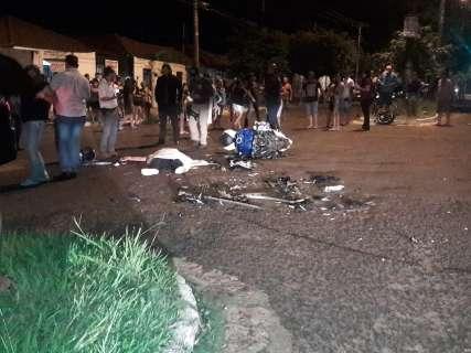 Motociclista morre na hora em acidente com Tucson no Jardim Petrópolis