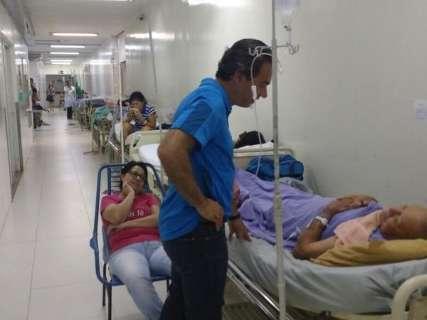 Direção do HU diz que médico estava almoçando durante visita do prefeito
