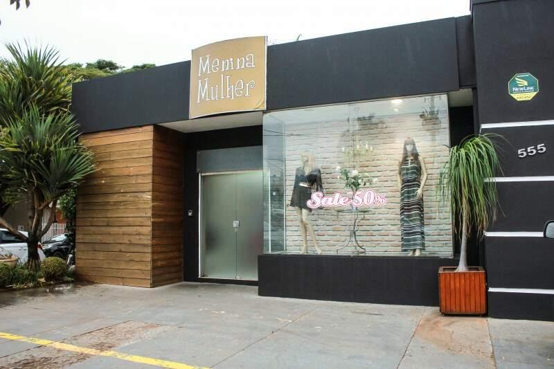 Loja fica na na Rua Bahia, 555, no bairro Jardim dos Estados