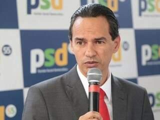 Prefeito eleito Marquinhos Trad (PSD), anunciou seu secretariado. (Foto: Fernando Antunes)