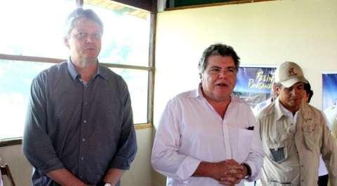No Pantanal, governador e ministro falam sobre preservação ambiental