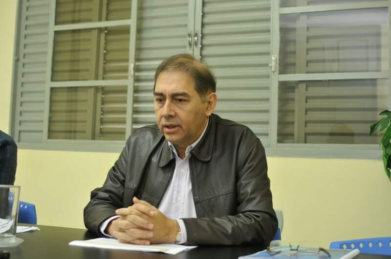 Alcides Bernal (PP), que chegou a vencer Reinaldo Azambuja (PSDB) em 2012, sequer chegou ao segundo turno em 2016. (Foto: Alcides Neto)