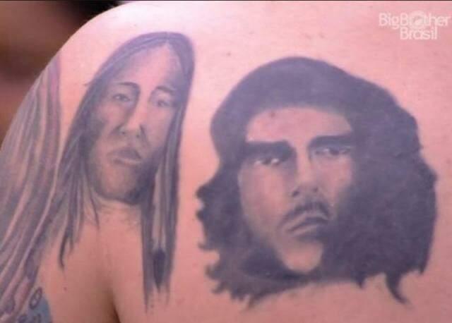 Tatuagem de Che foi eleita pior do mundo no Twitter.