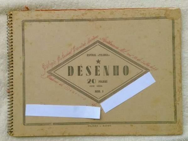Caderno de 1966, encontrado em Aquidauana (Foto: Arquivo UFMS)