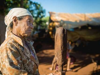 Índios de MS fazem vigília no STF para defender demarcação em Caarapó