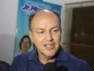 Candidato do MDB no primeiro turno, Mochi ficou em terceiro lugar na disputa, com 150.115 votos. (Foto: Paulo Francis)