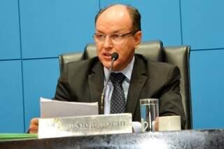 PMDB começa a articulação para viabilizar a reeleição de Mochi (Foto: Assessoria/ALMS)