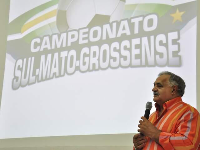 Ação do MPE pede afastamento de Francisco Cezário do comando do futebol no Estado. (Foto: João Garrigó)
