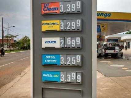 Gasolina terá aumento de 8,1% e diesel de 9,5%, anuncia Petrobras