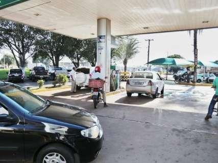 Gasolina ficou quase R$ 0,20 mais cara e preço passa dos R$ 4 em MS