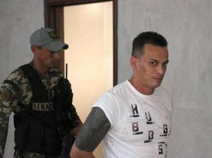 Líder do PCC no Paraguai quase fugiu de cerco policial, mostra vídeo