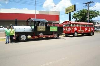 A passagem por Campo Grande acabou na sexta-feira ela encerrou a viagem em Campo Grande, mas já engata outra, rumo à Londrina.