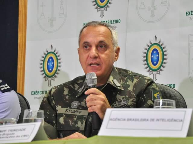 General explica que principal objetivo da operação é combater crimes nas regiões de fronteira.