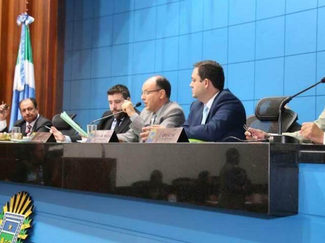 Sessão desta quarta-feira, 21.(Foto: Roberto Higa e Victor Chileno)