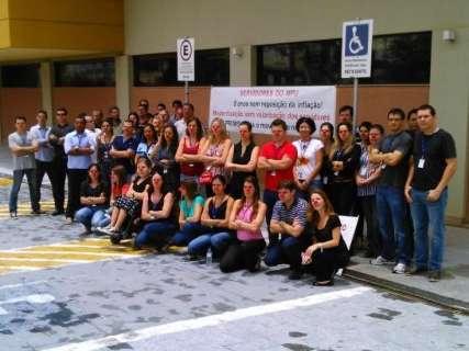 Servidores do MPF paralisam atividades em Campo Grande