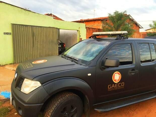Traficante foi preso em casa em Três Lagoas. (Foto: Minuto MS)