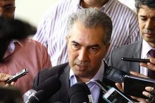 Reinaldo Azambuja classifica conflitos como invasões e acredita que ações desrespeitam as leis. (Foto: Marcos Ermínio)